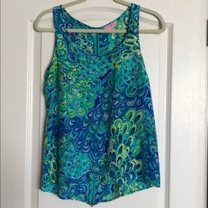Lilly Pulitzer Lilly's Lagoon Top
